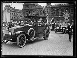 Fêtes de la Victoire en Belgique. Le roi Albert Ier et M. Poincaré en automobile. Bruxelles (Belgique), 21 juillet 1919. © Excelsior – L'Equipe/Roger-Viollet