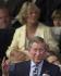 Le prince de Galles et Camilla Parker-Bowles assis dans la loge royale des jardins du Palais de Buckingham à l'occasion du deuxième concert commémorant le Jubilé de la reine Elisabeth II. Londres (Angleterre). © TopFoto/Roger-Viollet