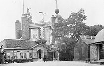 Observatoire de Greenwich. A gauche : Pavillon de Flamsteed (John Flamsteed, 1646-1719, 1er astronome royal). Angleterre. © Jacques Boyer / Roger-Viollet