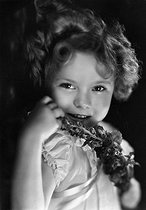 Shirley Temple (1928-2014), actrice américaine, 1934. © Ullstein Bild/Roger-Viollet