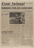 """Journal """"Front National"""" du 23 août 1944. Papier imprimé, 1944. Musée du Général Leclerc de Hauteclocque et de la Libération de Paris, musée Jean Moulin. © Mémorial Leclerc - Musée Jean Moulin/Roger-Viollet"""