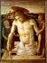 """Giovanni Bellini (1430-1516). """"Pieta"""" (Le Christ pleuré par deux anges), 1453-1455. Venise (Italie), musée Correr.  © Roger-Viollet"""