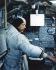 Neil Armstrong (1930-2012), astronaute américain, s'entrainant dans un module lunaire en prévision du vol spatial de la mission Apollo 11. 12 février 1969.  © Ullstein Bild/Roger-Viollet