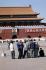 Portrait de Mao Zedong sur la place Tian'Anmen. Pékin (Chine), 1973.  © Jacques Cuinières / Roger-Viollet