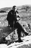 René Char (1907-1988), poète français, dans le maquis. Céreste, 1943. © Roger-Viollet