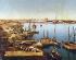 The Suez port (Egypt), late 19th century. © Roger-Viollet