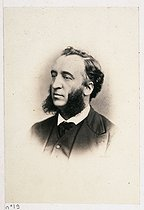 Visiting card of Jules Ferry (1832-1893), French politician and lawyer. Plate 19 from the album of the French Commune, 1871. Paris, musée Carnavalet. © Musée Carnavalet/Roger-Viollet