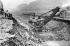 """Canal de Panama. Tranchée de la Cubebra """"Pelleteuse à vapeur"""". 20 mai 1913. © Jacques Boyer / Roger-Viollet"""