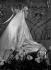 Robe de mariée portée par la fille du ferronnier d'art Edgar Brandt. France, fin des années 1920. © Laure Albin Guillot / Roger-Viollet