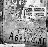 Events of May-June 1968. Inscriptions on a wall, rue de Seine. Paris (VIth arrondissement), June 1968. © Roger-Viollet