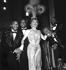 """Plaisirs"" variety show. Line Renaud and the Golden Gate Quartet. Casino de Paris, December 1959.  © Studio Lipnitzki / Roger-Viollet"