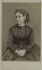 Portrait d'Adelina Patti (1843-1919), chanteuse lyrique. Carte de visite (recto). Photographie d'anonyme. Tirage sur papier albuminé, 1860-1890. Paris, musée Carnavalet. © Musée Carnavalet / Roger-Viollet