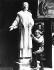 Statue en mémoire d'Emmeline Pankhurst (1858-1928), suffragette britannique. 1929. © Robert Sennecke / Ullstein Bild / Roger-Viollet