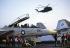 "Lebanese civil war. The US Navy. The ""Eisenhower"" aircraft carrier. © Françoise Demulder / Roger-Viollet"
