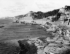 """The Corniche, the plage du Prophète and the restaurant """"La Réserve"""". Marseilles (France), circa 1910. © Léon et Lévy/Roger-Viollet"""
