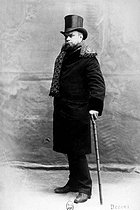 Paul Verlaine (1844-1896), French poet. Paris, French National Library. © Roger-Viollet