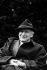 Yehudi Menuhin (1916-1999), violoniste et chef d'orchestre d'origine russe. © Keith Saunders / TopFoto / Roger-Viollet
