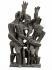"""Ossip Zadkine (1890-1967). """"Le retour du fils prodigue"""".  Bronze, Susse fondeur Paris. Exemplaire 4/5, 1950. Paris, musée Zadkine. © Eric Emo/Musée Zadkine/Roger-Viollet"""