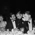 Errol Flynn et Clark Gable, acteurs américains, vers 1955. © Roger-Viollet