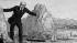 Ferdinand de Lesseps (1805-1894), diplomate et administrateur français. Caricature, B.N.F. © Roger-Viollet