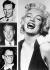 Marilyn Monroe (1926-1962), actrice américaine et ses maris, Jim Dougherty, Joe Dimaggio et Arthur Miller.  © TopFoto / Roger-Viollet