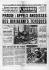 Invasion de la Tchécoslovaquie par les troupes du Pacte de Varsovie. L'Aurore, le 29 août 1968. © Roger-Viollet