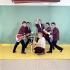 """Les """"Chaussettes noires"""", groupe de rock and roll français (1960-1963). fondé par Eddy Mitchell (debout en arrière plan).  © Roger-Viollet"""