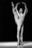 """Arepo"". Choreography : Maurice Béjart. Music : Charles Gounod. Sylvie Guillem and Manuel Legris. Paris, Opéra Garnier, March 1986. © Colette Masson / Roger-Viollet"