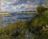 Pierre Auguste Renoir (1841-1919). The river Seine in Champrosay, 1876. Paris, musée d'Orsay. © Roger-Viollet