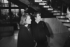 Robert Boulin case. Boulin family : Colette Boulin (wife) with Fabienne Boulin-Burgeat (daughter). Versailles (France), on January 17, 1984. © Jean-Régis Roustan / Roger-Viollet