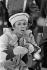 """Petrouchka"". Chorégraphie de Michel Fokine, musique d'Igor Stravinski. Rudolf Noureev. Tournage TV, janvier 1976. © Colette Masson/Roger-Viollet"