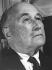 Jean Monnet (1888-1979), économiste et financier français, 1966. © Karoly Forgacs / Ullstein Bild / Roger-Viollet