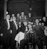 Jean-Louis Barrault, Madeleine Renaud, Boris Vian, Jean Desailly et Pierre Bertin. Gala des artistes, avril 1949. © Studio Lipnitzki/Roger-Viollet