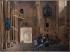 """François Granet (1775-1849). """"Blanche de Castille distribuant les aumônes aux prisonniers"""", 1801. Musée des Beaux-Arts de la Ville de Paris, Petit Palais. © Petit Palais/Roger-Viollet"""