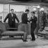 """""""Ce soir ou jamais"""", film by Michel Deville. Michel de Ré, Claude Rich and Guy Bedos. France, 1961. © Alain Adler / Roger-Viollet"""