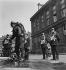World War II. Exercise of the civil defence. Firemen. Paris, 1939. © Gaston Paris / Roger-Viollet