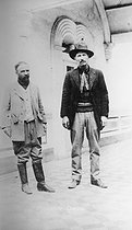 Francisco Madero (1873-1913), Mexican stateman, and Pascual Orozco (1882-1915), one of his partisans. © Albert Harlingue / Roger-Viollet