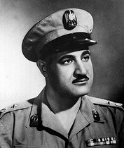 Gamal Abdel Nasser (1918-1970), Egyptian leader of the government from 1954 to 1970. © Collection Roger-Viollet / Roger-Viollet