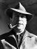 Georges Simenon (1903-1989), écrivain belge. 1957. © Ullstein Bild / Roger-Viollet