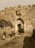 La Porte de Saint-Etienne. Jérusalem (Palestine, Israël), vers 1880-1890. © Roger-Viollet