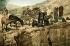 Bédouines puisant de l'eau. Jérusalem (Palestine, Israël), vers 1880-1890. © Roger-Viollet