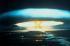 Explosion d'une bombe thermonucléaire de 150 mégatonnes sur l'atoll de Bikini (Iles Marshall), mars 1954. Photo de l'ONU. © TopFoto / Roger-Viollet