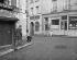 Montmartre. The place du Tertre, at the corner of the rue Norvins. Paris (XVIIIth arrondissement). Photograph by René Giton known as René-Jacques (1908-2003). Bibliothèque historique de la Ville de Paris. © René-Jacques/BHVP/Roger-Viollet