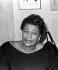 Ella Fitzgerald (1917-1996), chanteuse de jazz américaine. © Claude Poirier / Roger-Viollet