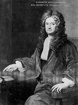 Isaac Newton (1642-1727), English mathematician and physicist, 1703. © Jacques Boyer/Roger-Viollet