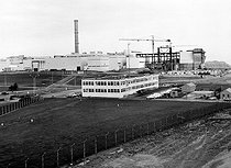 Nuclear power station of La Hague (Manche). France, March 1978. © Roger-Viollet