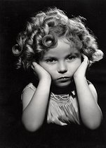 Shirley Temple (1928-2014), actrice américaine, vers 1933. © Imagno/Roger-Viollet