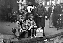 World War II. Exodus. Paris, 1940. © LAPI / Roger-Viollet