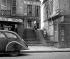 The rue des Degrés, the smallest street in Paris (IInd arrondissement). © Roger-Viollet