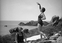 Women on the seashore. France, circa 1935. © Tony Burnand / Roger-Viollet